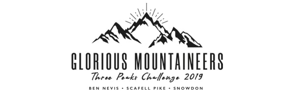 glorious_mountaineers_threepeaks_challenge_logo_design_DesignPit