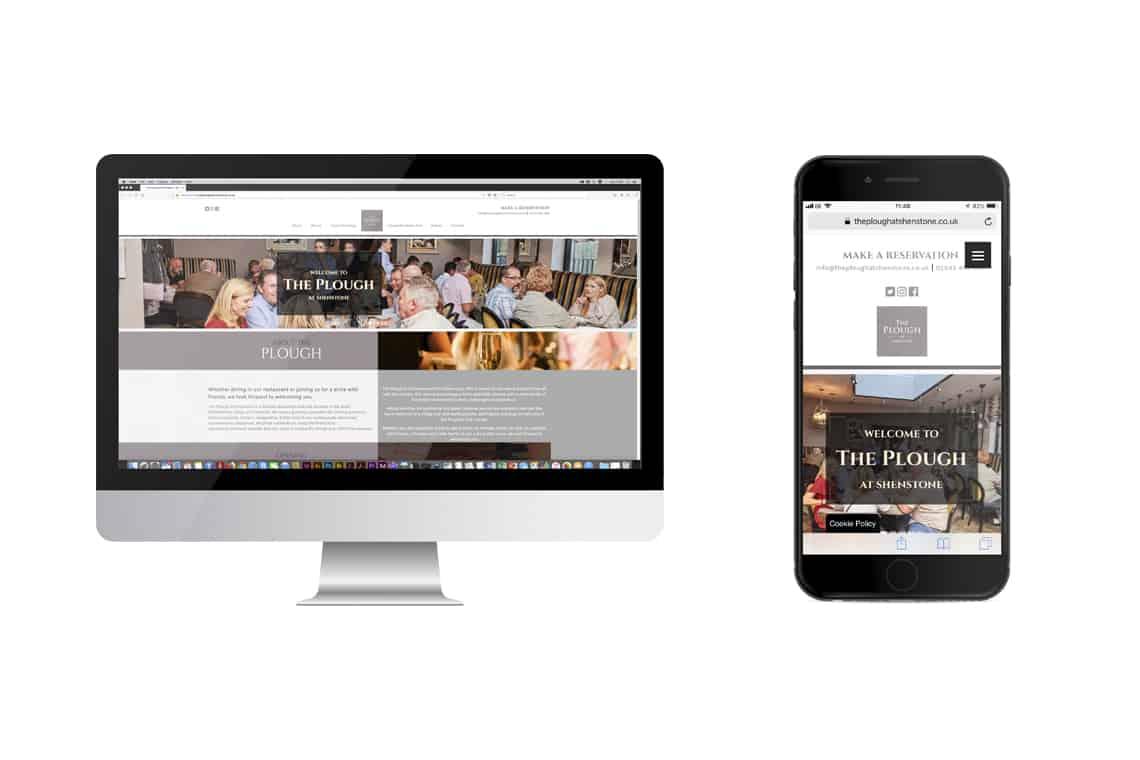 ThePlough_website_design_mockup_DesignPit