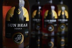 Packaging design for Sun Bear Vodka by Design Pit
